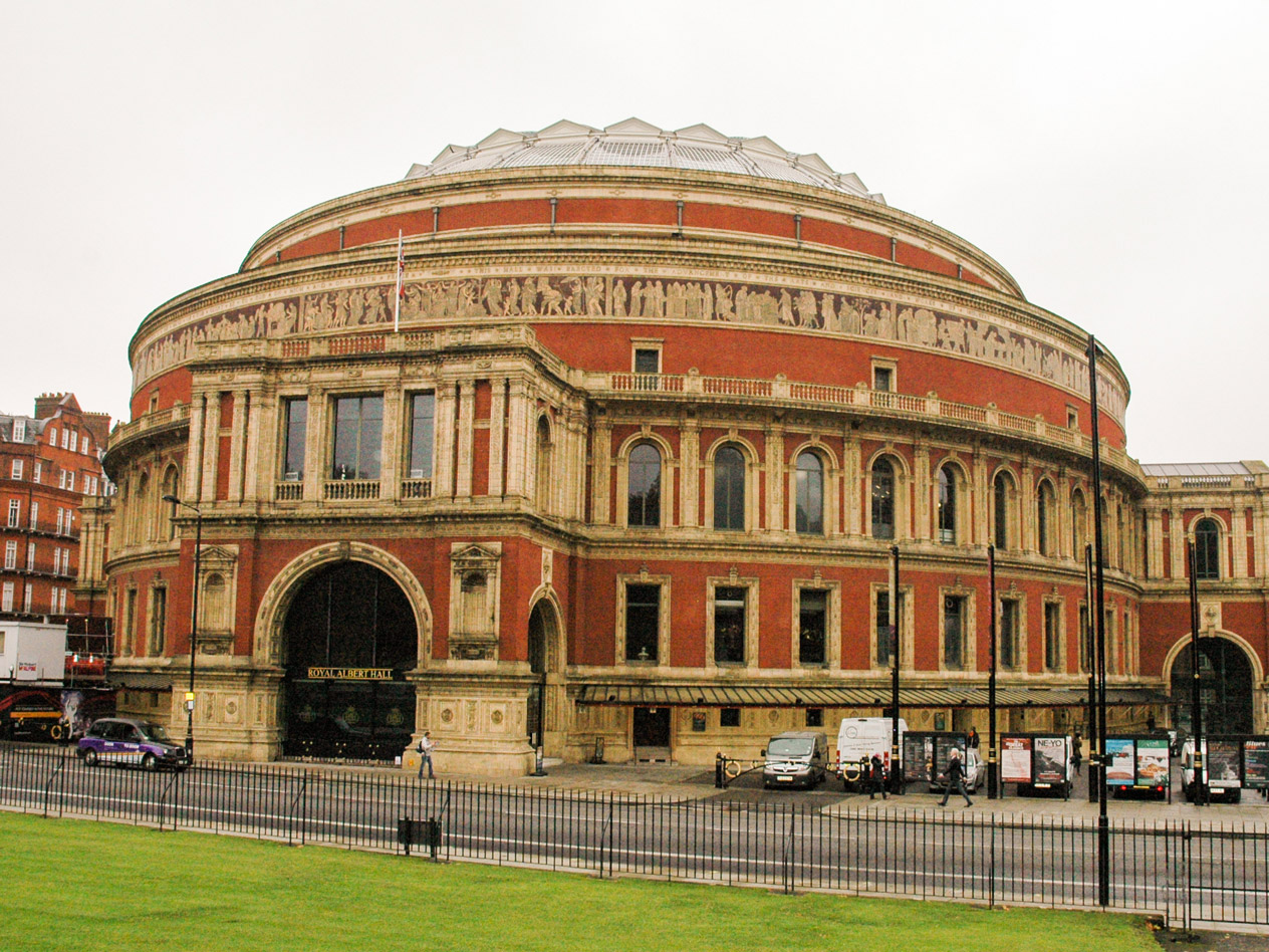 albert hall seats
