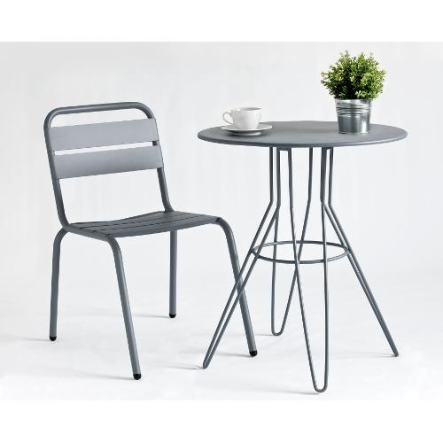 La rochelle aluminium armchair jb commercial contract furniture - Table jardin aluminium la rochelle ...