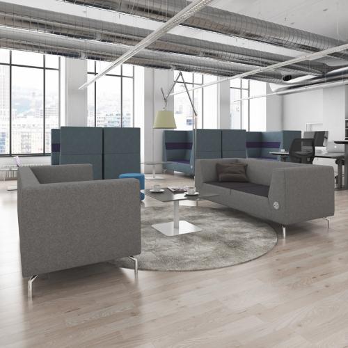 Furniture Johor Bahru Leather Sofa: Alban 3 Seater Sofa - Commercial Sofas