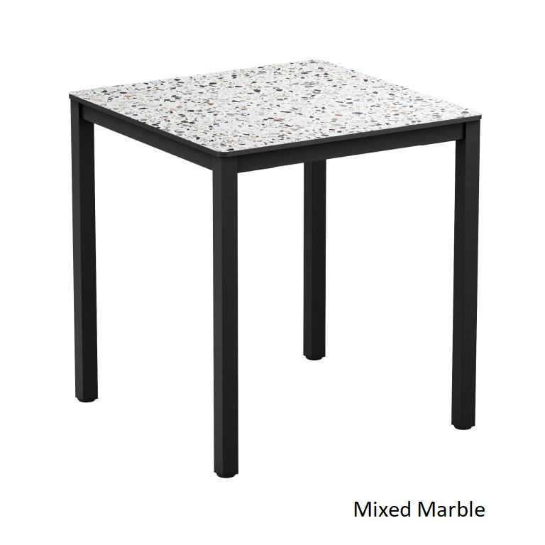 Oregon All Weather Dining Table - Square | JB Commercial ...