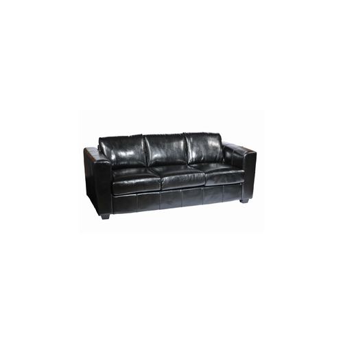 Out Of Stock Furniture: New York Leather Sofa - 3 Seater - Out Of Stock